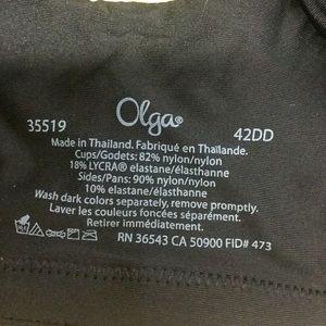 Olga Intimates & Sleepwear - Olga Sheer Leaves Full-Figure Minimizer Bra